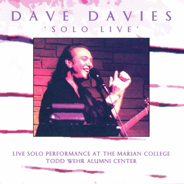Solo Live: Live Solo Performance at the Marian College Todd Wehr Alumni Center