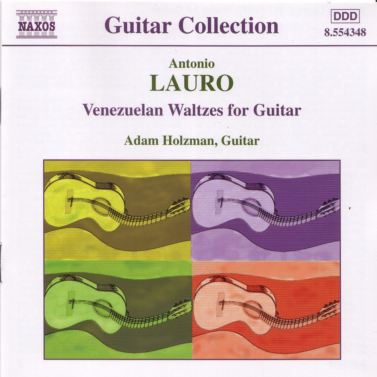 Lauro: Guitar Music, Vol. 1 - Venezuelan Waltzes