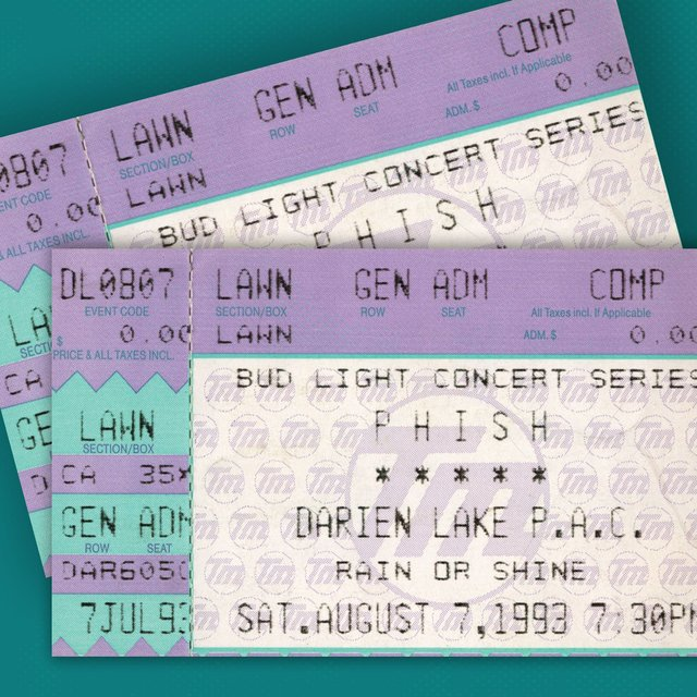 8/7/93 Darien Lake Performing Arts Center, Darien Center, NY (Live)