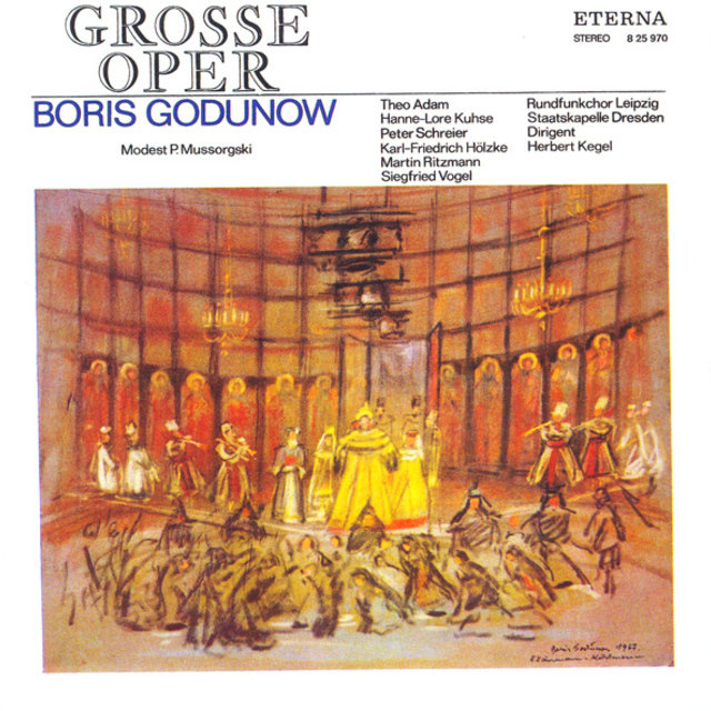 Mussorgsky: Godunov (Excerpts) [Sung in German]