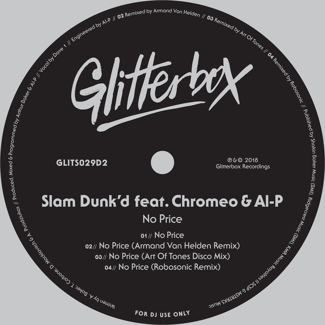 No Price (feat. Chromeo & Al-P)