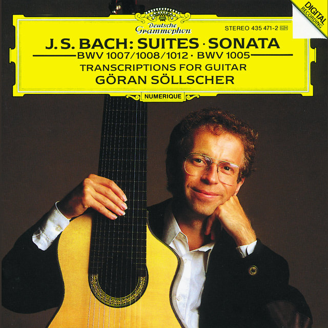 J.S. Bach: Transcriptions for Guitar Solo