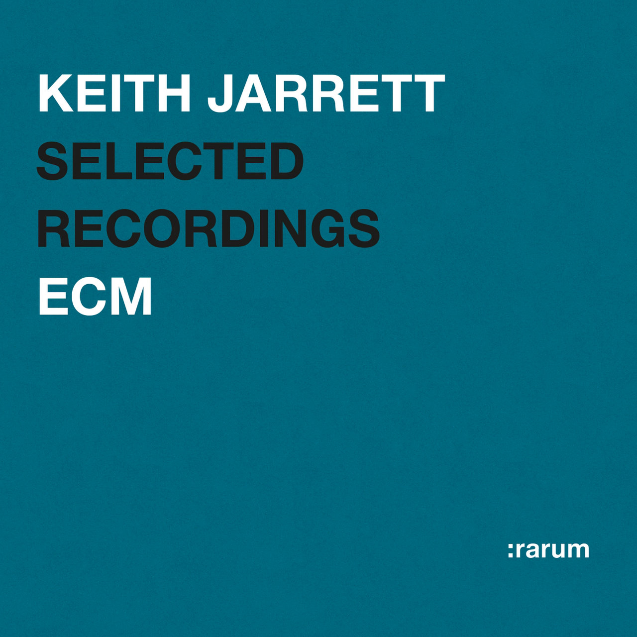 Rarum I / Selected Recordings