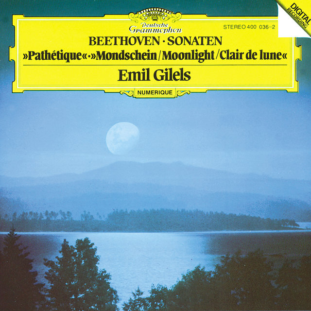 "Beethoven: Piano Sonatas Nos.8 ""Pathétique"", 13 & 14 ""Moonlight"""