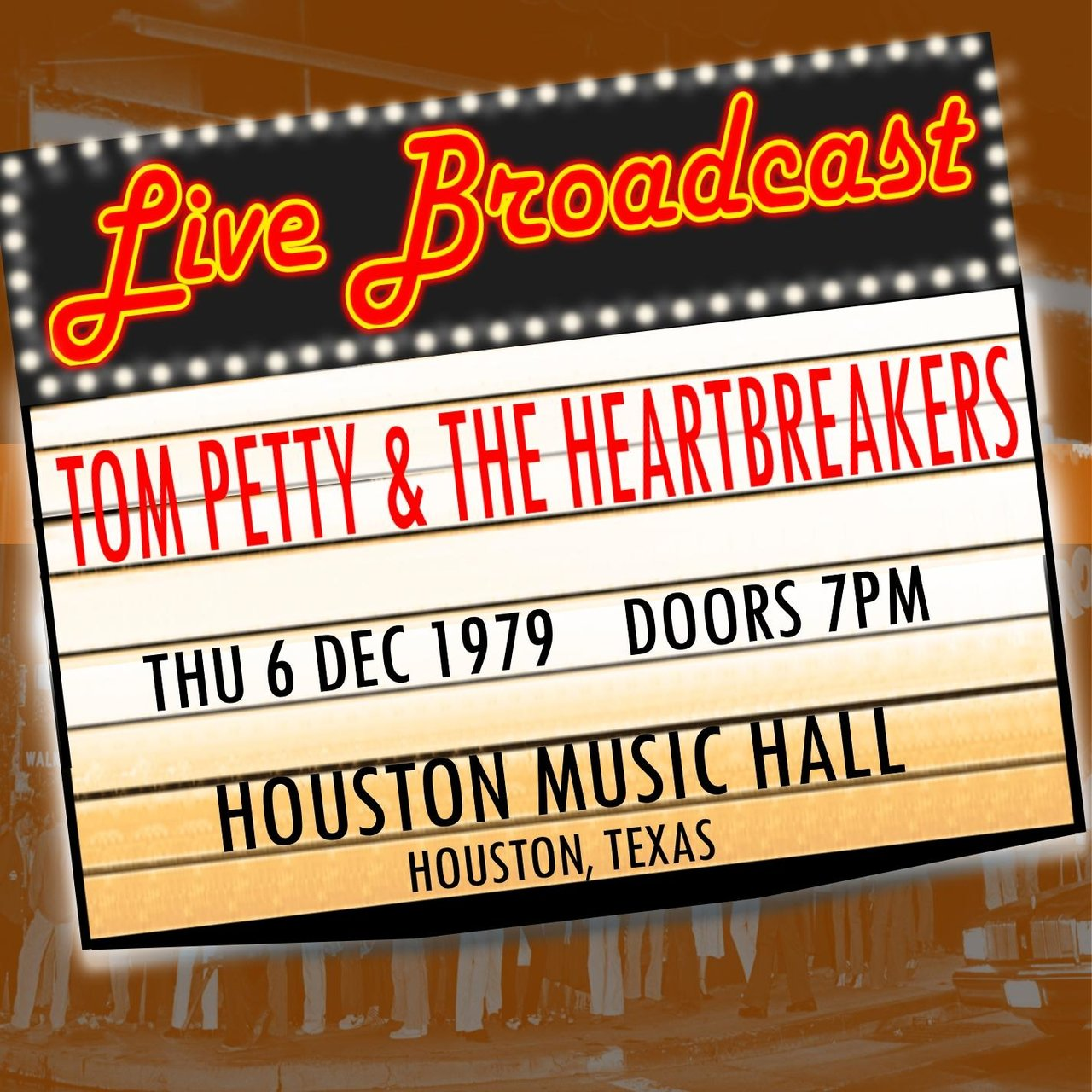 Live Broadcast - 6th December 1979  Houston Music Hall,  Houston, Texas