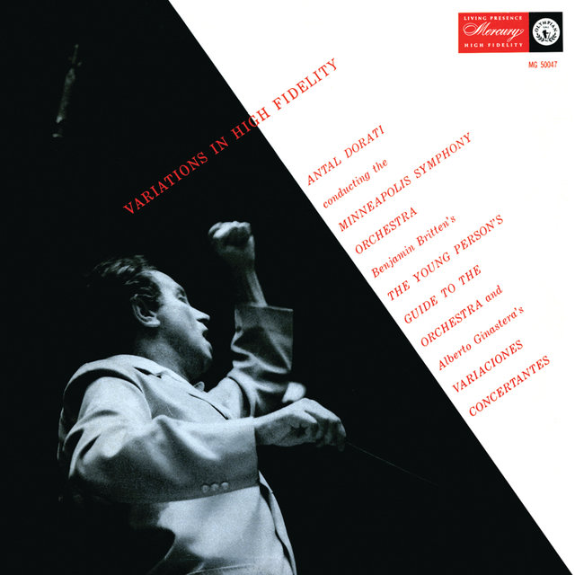 Ginastera: Variaciones Concertantes; Britten: The Young Person's Guide To The Orchestra