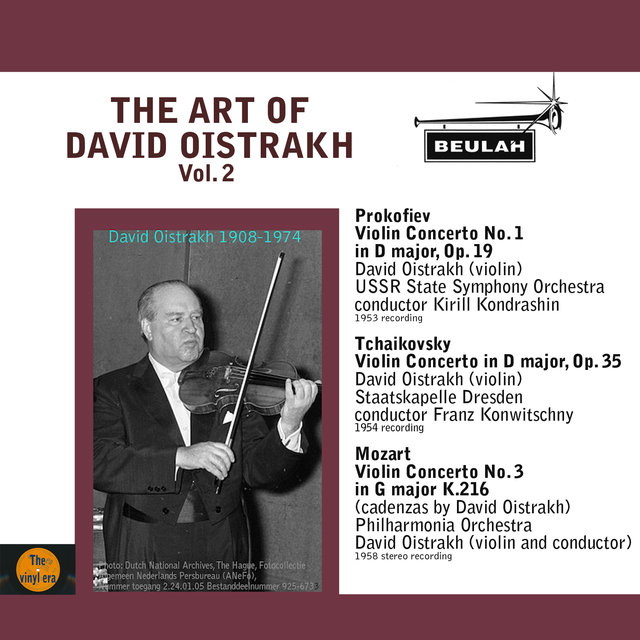The Art of David Oistrakh, Vol. 2