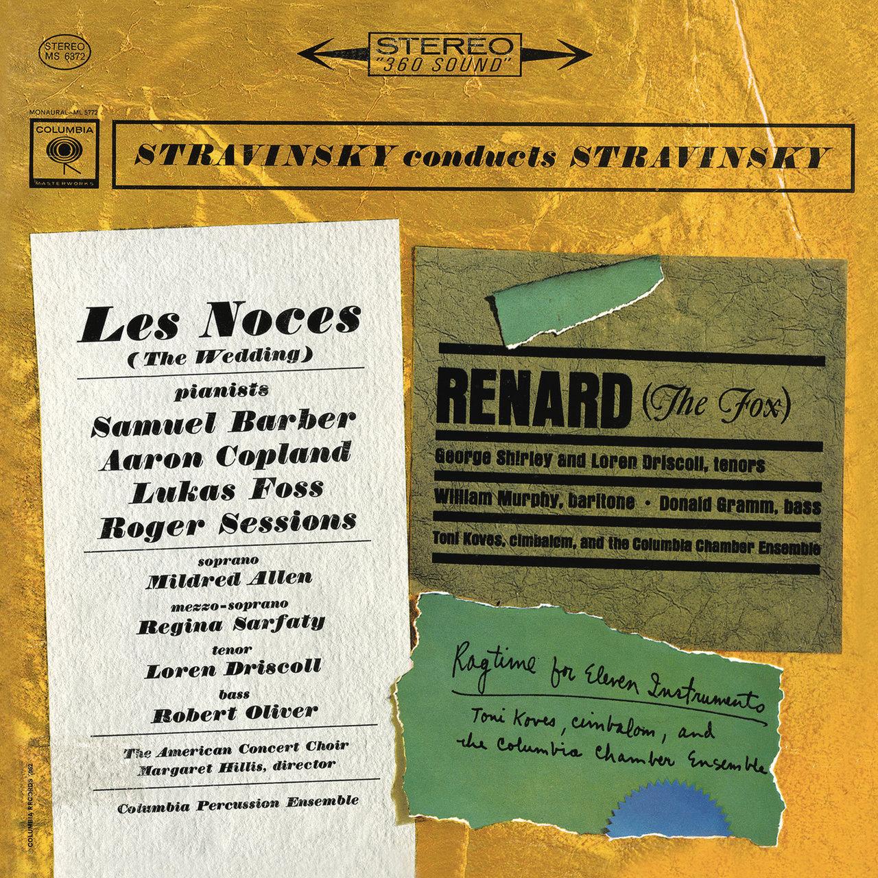 Tidal listen to stravinsky conducts favorite short pieces on tidal stravinsky les noces renard rag time m4hsunfo