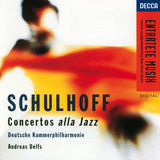 Schulhoff: Double Concerto for flute & piano with string orchestra & 2 horns - 2. Andante