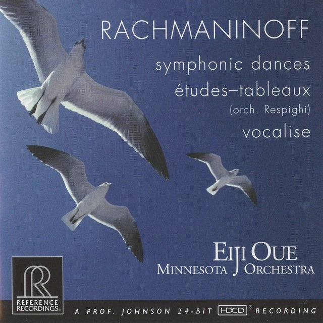 Rachmaninoff: Symphonic Dances & Vocalise - Respighi: 5 Études-tableaux After Rachmaninoff