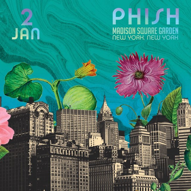 Phish: 1/2/2016 Madison Square Garden, New York, NY