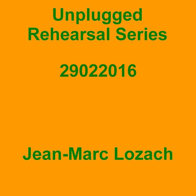 Unplugged Rehearsal Series Opus 289