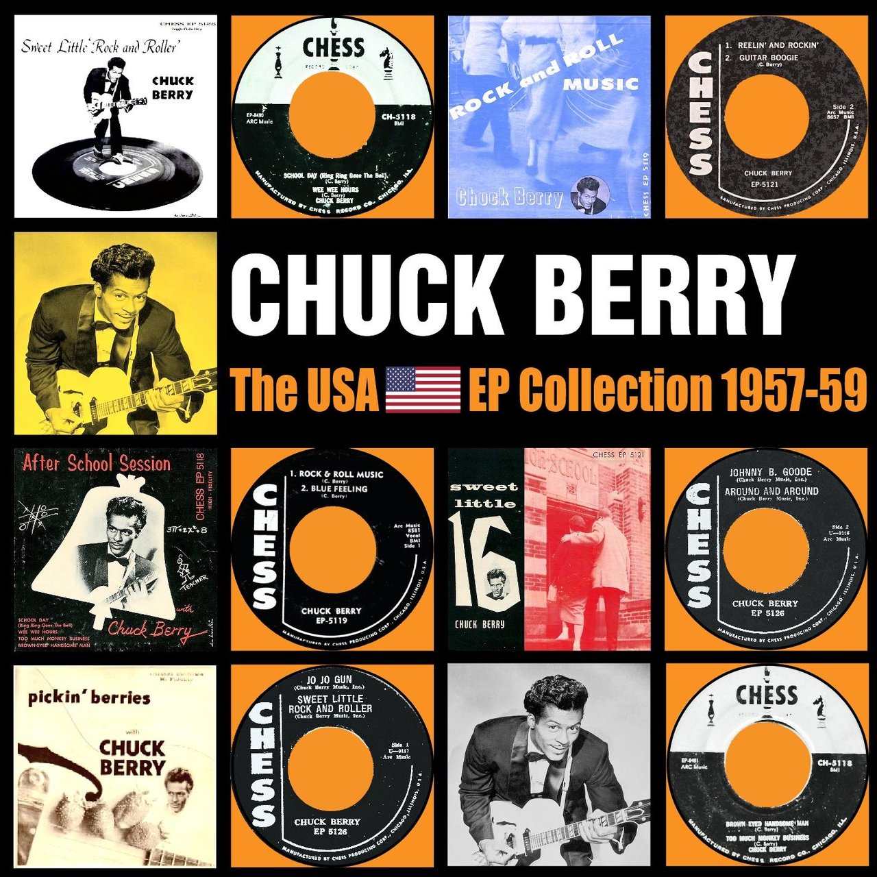 The USA EP Collection 1957 - 1959