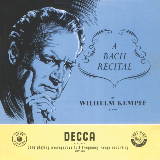 Kempff plays Bach