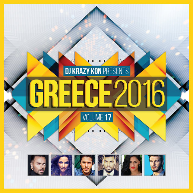 Greece 2016, Vol. 17 (Mixed By DJ Krazy Kon)