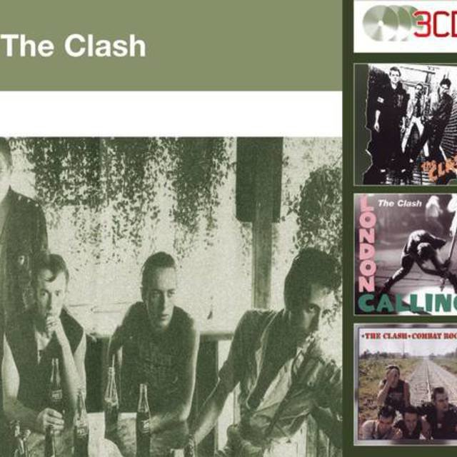 The Clash (UK Version)  - London Calling - Combat Rock