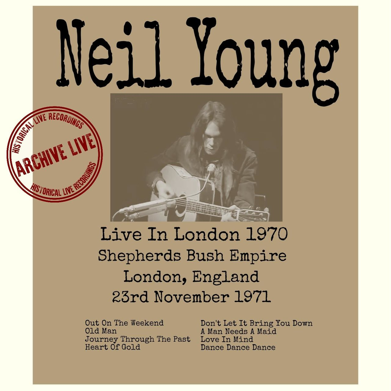 Live In London 1971