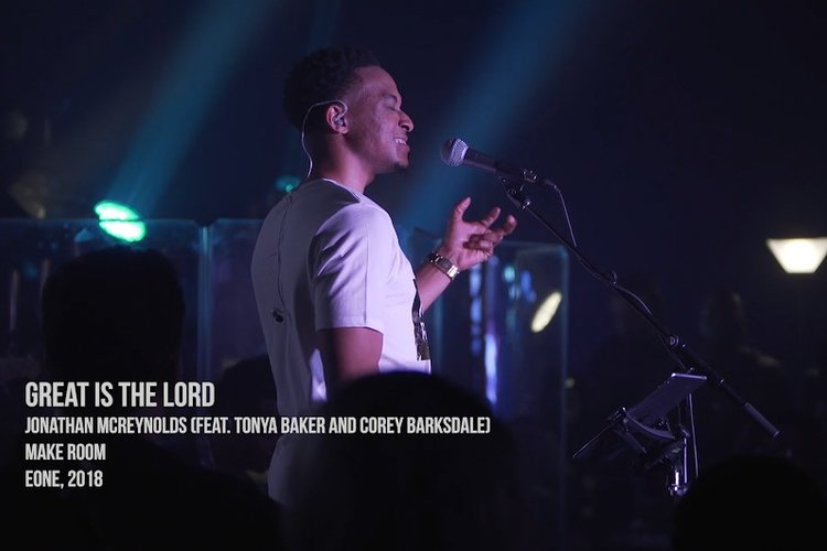 Great is the Lord feat. Tonya Baker and Corey Barksdale