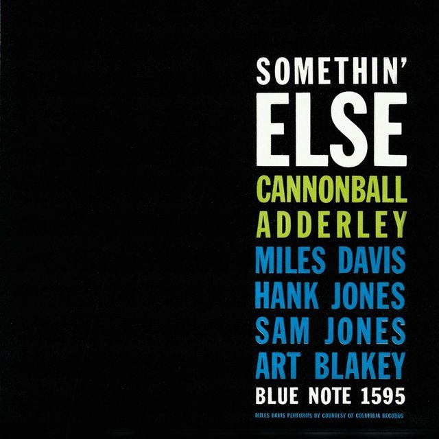 Somethin' Else (Rudy Van Gelder Edition)
