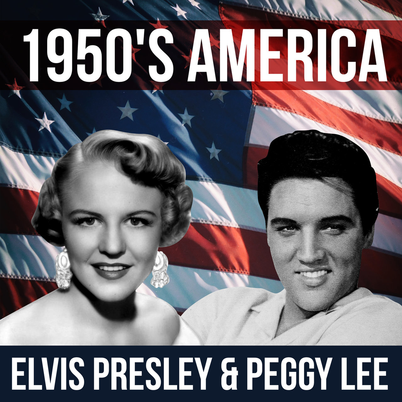 1950's America - Elvis Presley & Peggy Lee