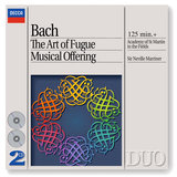 J.S. Bach: Musical Offering, BWV 1079 - Ed. Marriner - Canon perpetuus super Thema Regium
