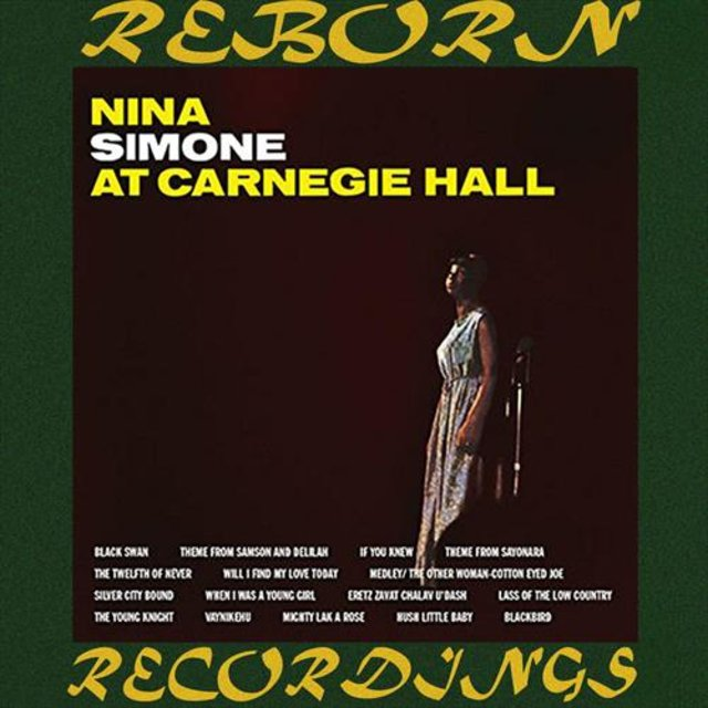 Nina Simone At Carnegie Hall (HD Remastered)
