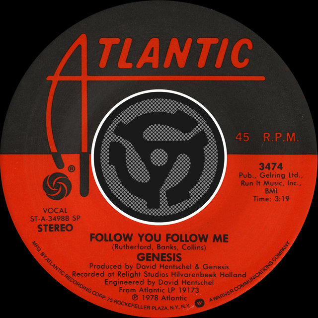 Follow You Follow Me [Single Version] / Inside & Out [Digital 45]