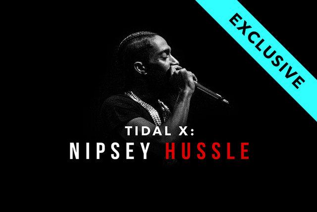 Nipsey Hussle on TIDAL