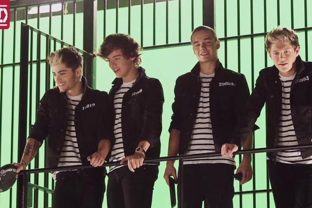 Kiss You (Behind The Scenes)