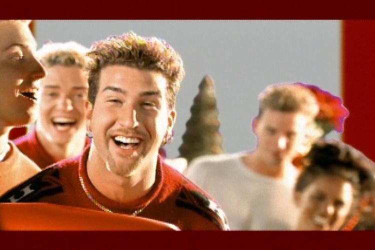 merry christmas happy holidays videoclip - Merry Christmas Happy Holidays Nsync