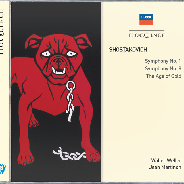 Shostakovich: Symphonies Nos.1 & 9; The Age of Gold