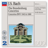 J.S. Bach: Concerto for 2 Harpsichords, Strings, and Continuo in C minor, BWV 1060 - Arr. for violin, oboe strings & continuo - 1. Allegro