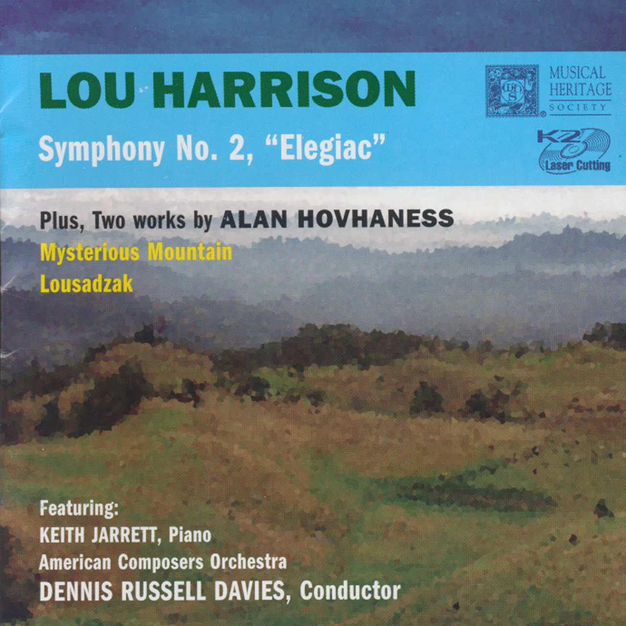 Alan Hovhaness - Lou Harrison: Mysterious Mountain
