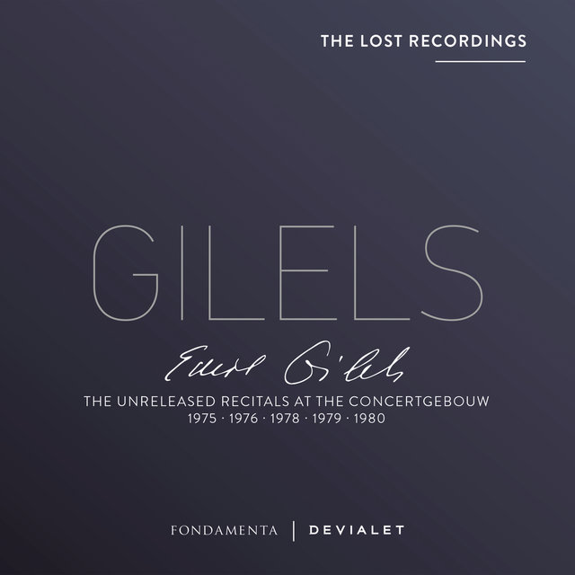 The Unreleased Recitals at the Concertgebouw 1975, 1976, 1978, 1979, 1980 (Lost Recordings) (Live)