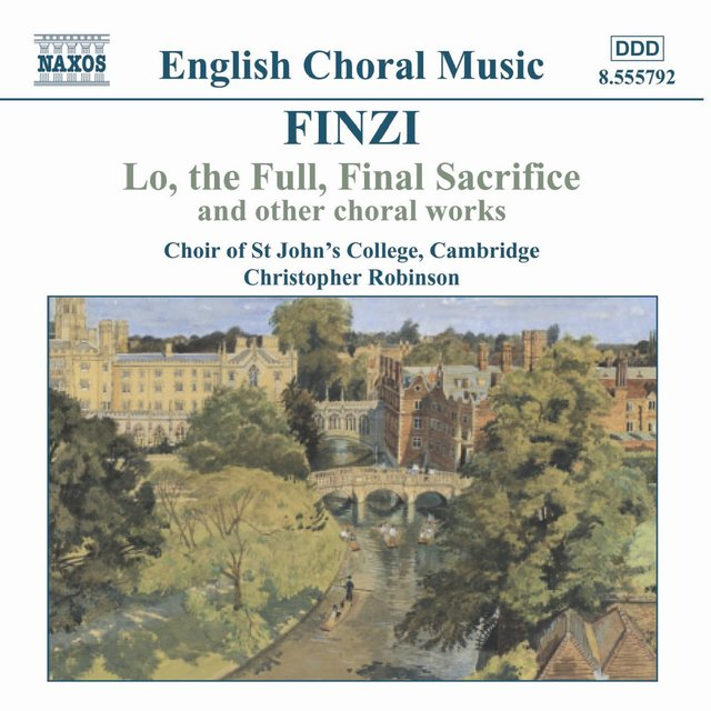Finzi: Lo, the Full, Final Sacrifice / Magnificat / Unaccompanied Partsongs, Op. 17