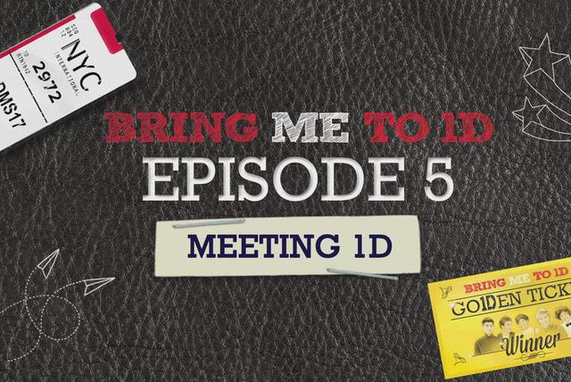 BRING ME TO 1D: MEETING 1D