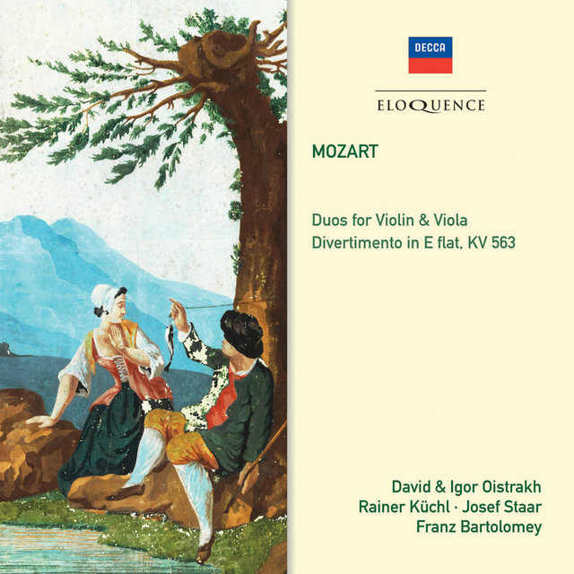 Mozart: Duos for Violin & Viola; Divertimento In E Flat, KV 563
