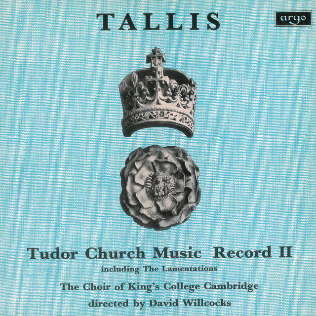 Tallis: Tudor Church Music II (Lamentations of Jeremiah) (Remastered 2015)