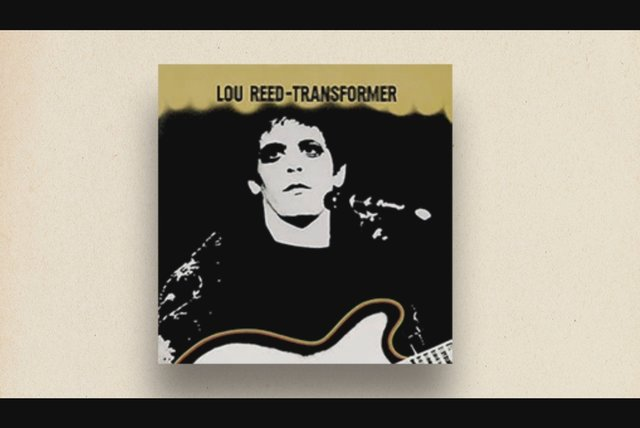 Mick Rock on the Transformer Album Cover