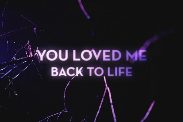 Loved Me Back to Life (Official Lyric Video)