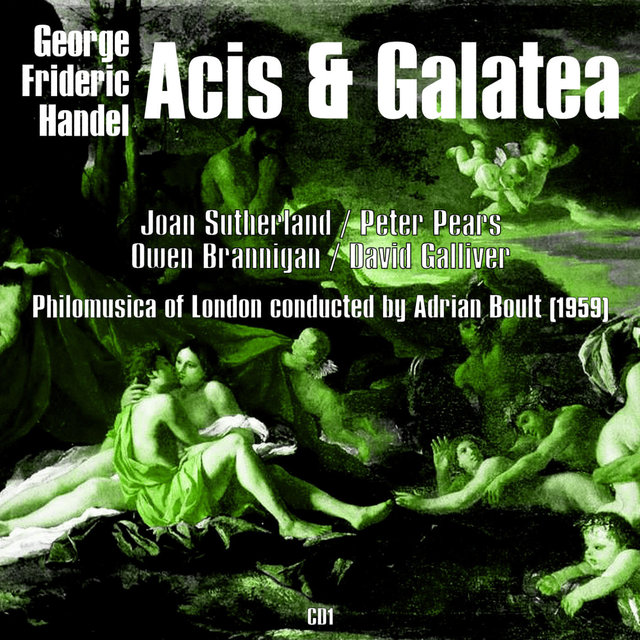 George Frideric Handel: Acis & Galatea (1959), Volume 1
