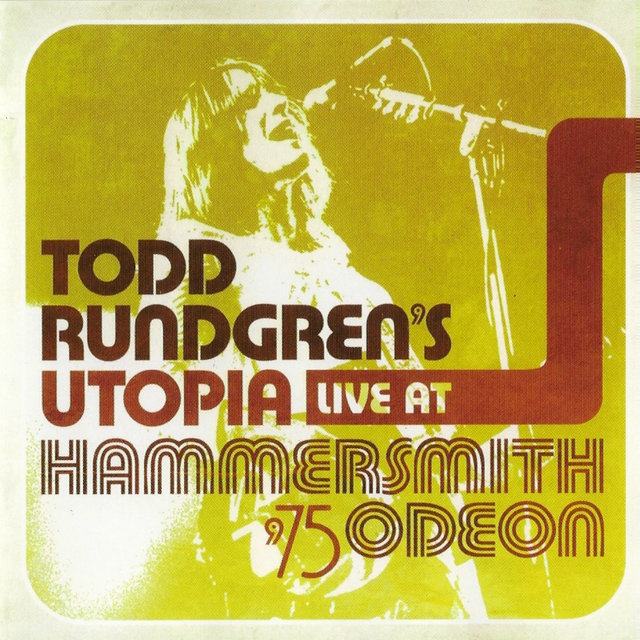 Todd Rundregn's Utopia Live At Hammersmith Odeon '75