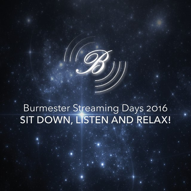 Burmester Streaming Days 2016