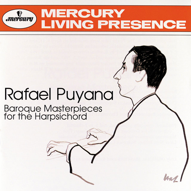 Rafael Puyana: Baroque Masterpieces For The Harpsichord