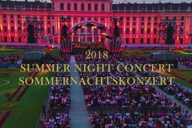 Sommernachtskonzert 2018 Highlights