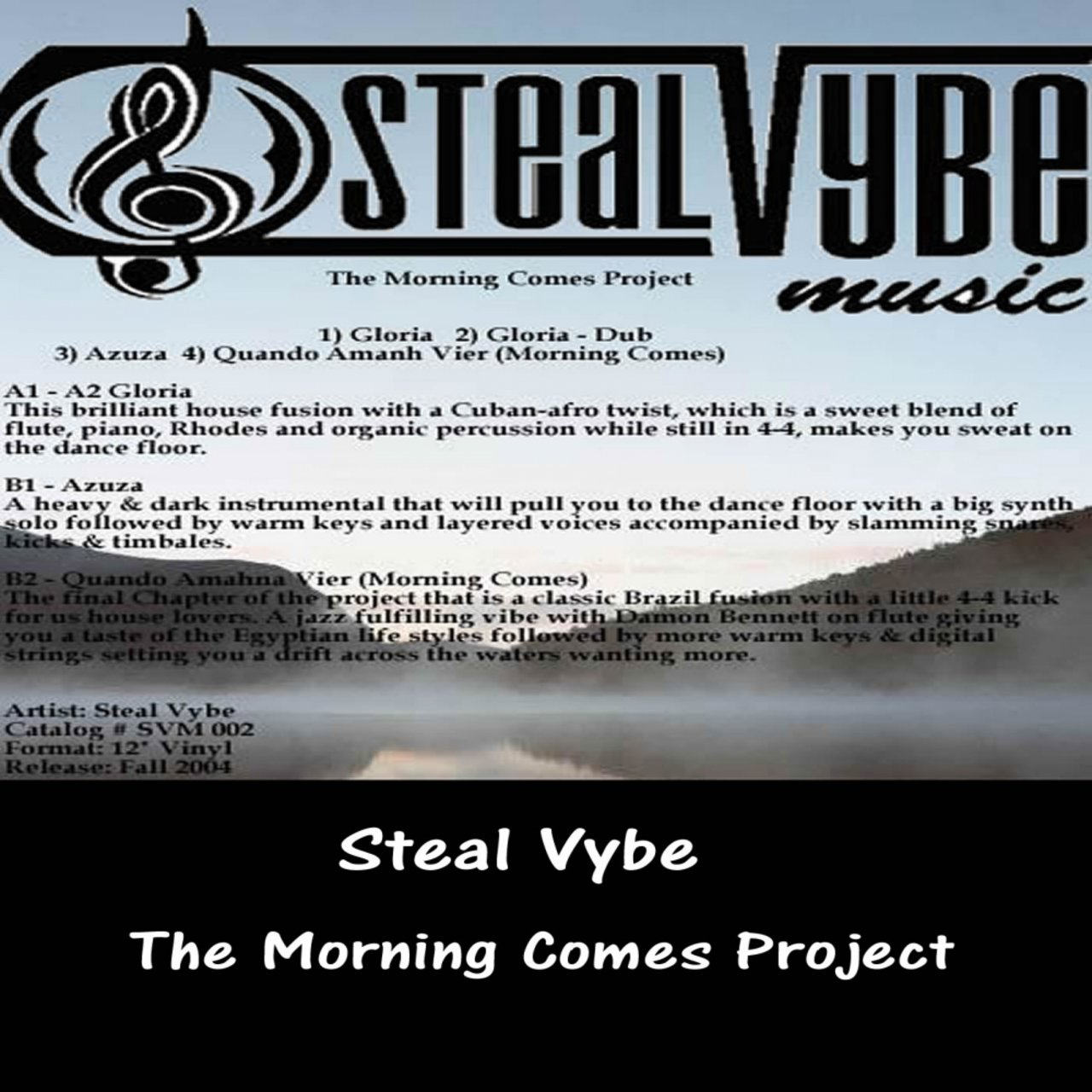 The Morning Comes Project by Steal Vybe on TIDAL