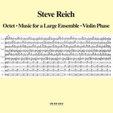 Reich: Music For A Large Ensemble