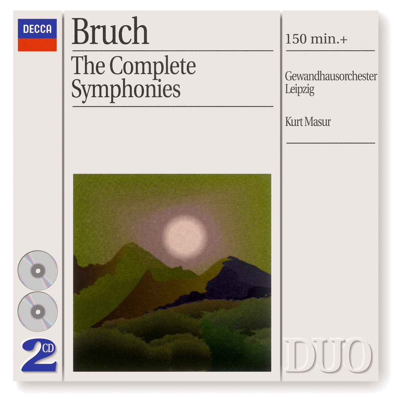 Bruch: The 3 Symphonies/Works for Violin & Orchestra (2 CDS)
