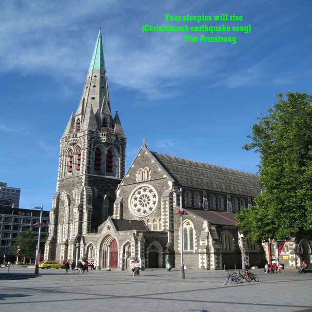 Your Steeples Will Rise (Christchurch Earthquake Song)