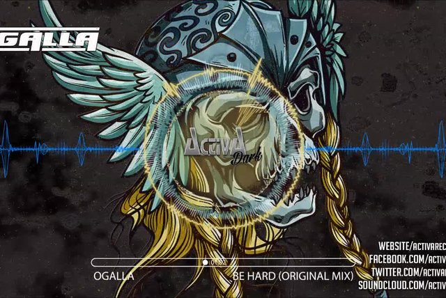 Ogalla - Be Hard (Original Mix) - Official Preview (Activa Dark)